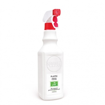 Plastic surface cleaner